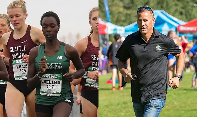 Chelimo is the third UAA athlete in four years to be named the Women's Regional Athlete of the Year. Friess earned his fifth women's regional Coach of the Year award.