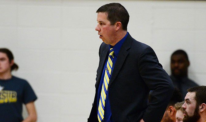 Jamie Stevens amassed an 89-114 record in his seven years as MSUB head coach.