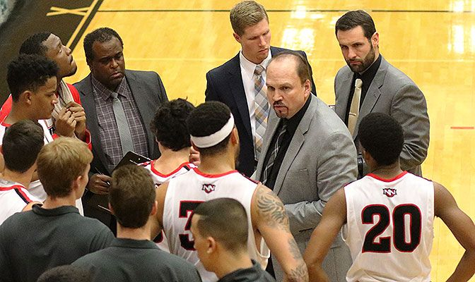Scott Flemming compiled a 20-32 record in two seasons at NNU. He arrived in Nampa after three years as the head coach of India's national men's basketball team.