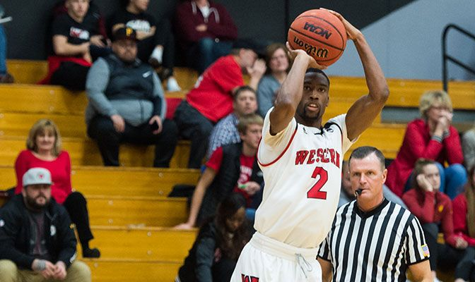 Western Oregon's Demetrius Trammell earned GNAC Men's Basketball Player of the Week after shooting 70 percent from the field and three-point range in two games.