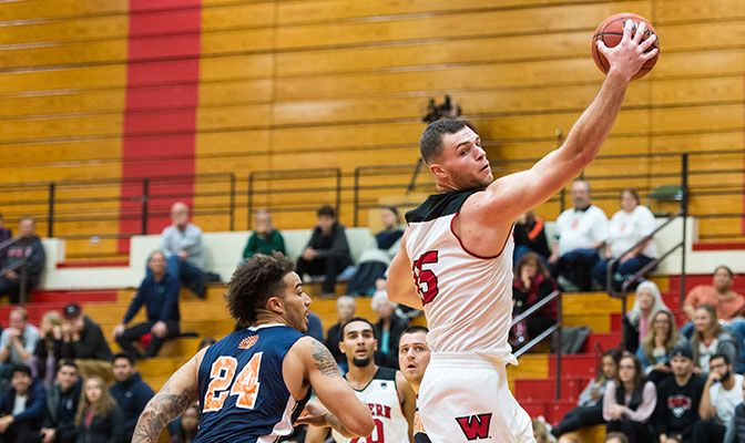 Western Oregon's Vince Boumann enters the week ranked second in Division II in field goal shooting at 75.3 percent, making 61 of 81 of his shots so far this season.