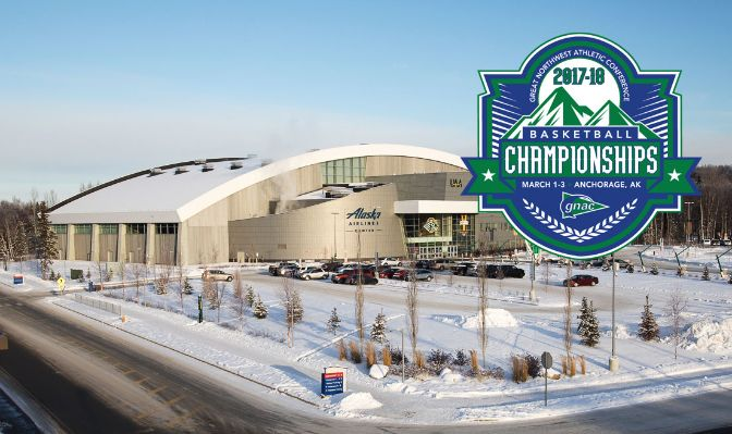 The Alaska Airlines Center is the host venue for the 2018 GNAC Basketball Championships.