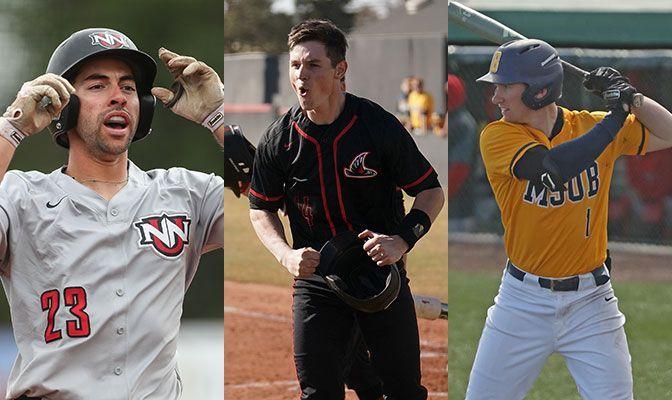 Bases Loaded: Three Named Baseball All-Americans
