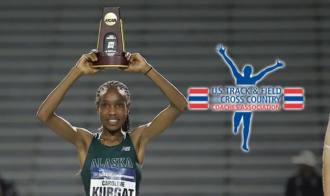 Caroline Kurgat's four outdoor titles is the most by a female athlete in GNAC history.