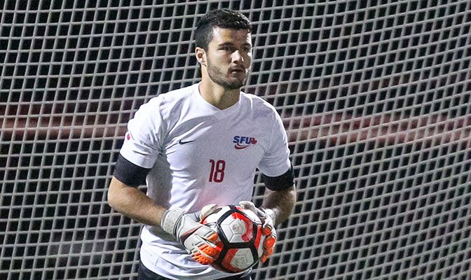 Brandon Watson led the GNAC and finished sixth in Division II with a 0.59 goals against average. He is the GNAC career leader with 31 shutouts.