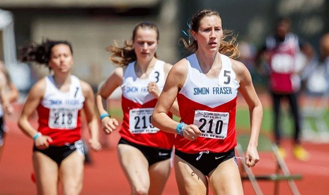 Lindsey Butterworth won 10 GNAC titles and also won seven All-American awards in a brilliant career (CJImagesNW).