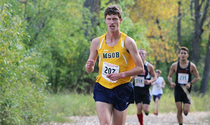 Jacob Marshall recently completed a successful four-year career on the MSUB cross country and track and field teams.
