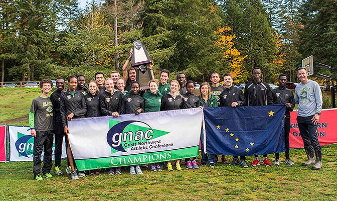 Both Alaska Anchorage's men's and women's cross country teams are picked to repeat as conference champions in 2017. Photo by Nick Danielson.