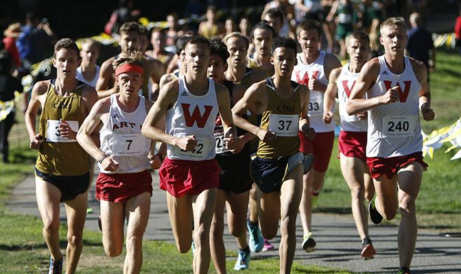Running in his first race of the season, Western Oregon's David Ribich won the SF State Invitational with a time of 24:47.