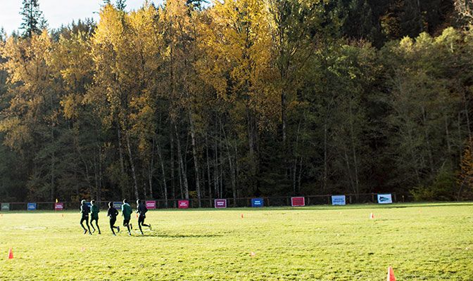 This weekend's Western Washington Classic takes place at East Lake Padden Park, which will host the GNAC Championships in two weeks. Photo by Nick Danielson.