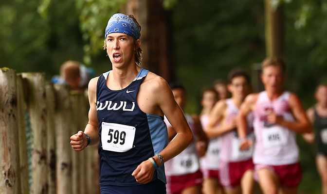 The Vikings' Andrew Wise was named GNAC Men's Cross Country Athlete of the Week after he led GNAC athletes at the WWU Classic.