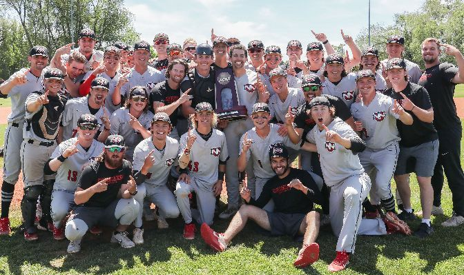 Northwest Nazarene won the West Regional title on its home field just eight days after claiming its second GNAC championship at home. Photo by Loren Orr.