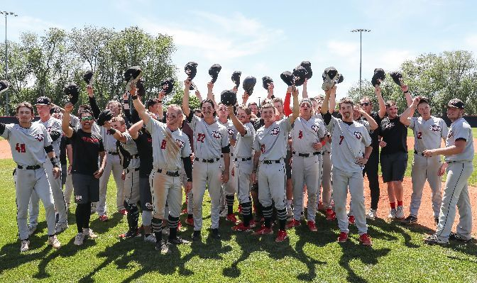 Northwest Nazarene claimed its second GNAC title in 2021 and became the conference's first team to win a game at the NCAA Championships. Photo by Loren Orr.