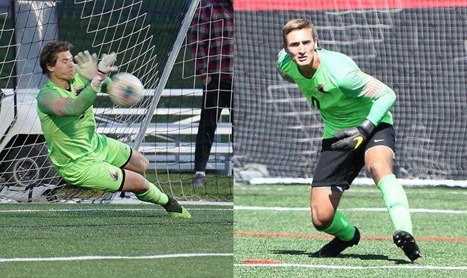 Nighthawks' Goalkeepers Lead Men's Soccer All-Academic