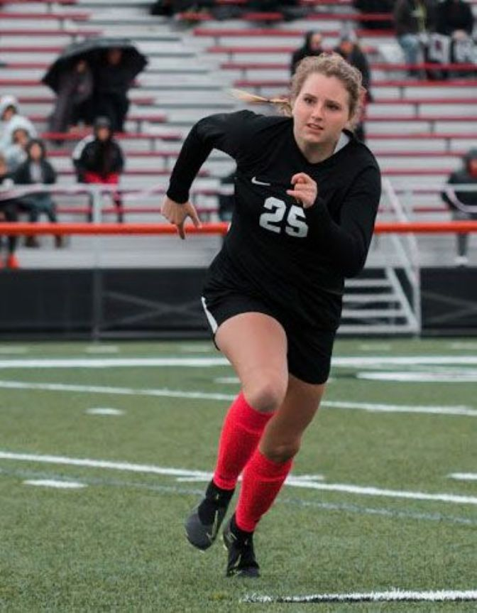 Bella Brown played in 18 games and started in three as a sophomore for the Wildcats in 2019, finishing with one goal and two assists.