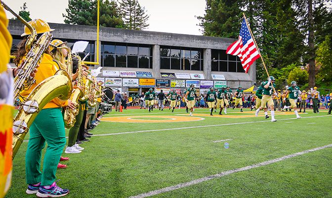 Humboldt State welcomed over 4,000 fans for its last-ever home opener, a 38-13 loss to Western Oregon.