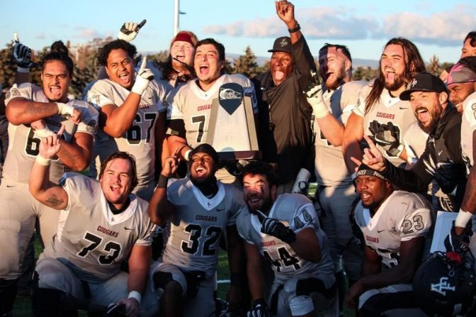 There was plenty to celebrate for Azusa Pacific after Saturday afternoon's big victory in Ellensburg.