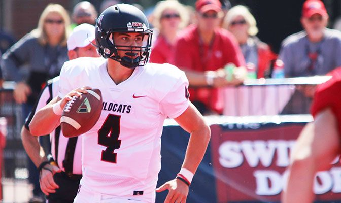 Reilly Hennessey finished the season among the Division II leaders in passing yards, total offense and points.