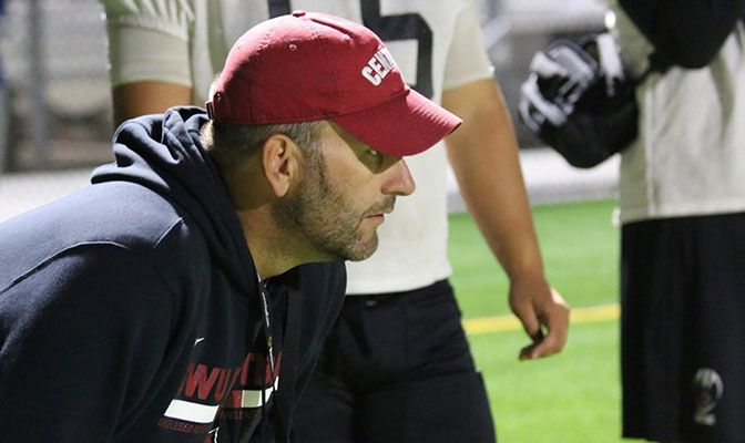 Prior to joining the Central Washington staff, Chris Fisk helped coach Southern Oregon to a NAIA national championship.