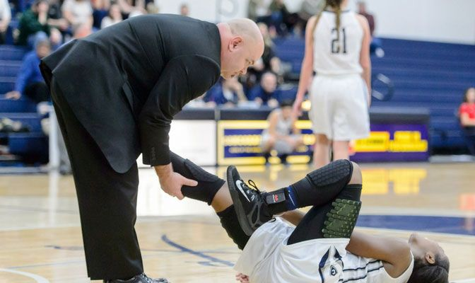Kyle Nelson has also served as the head athletic trainer at Evergreen State and the University of Portland.
