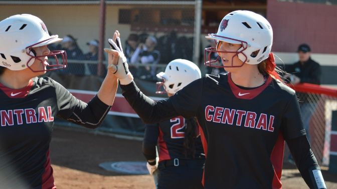 Central Washington leads the GNAC in batting percentage (.333), on-base percentage (.402), stolen bases (28), earned run average (3.30), opponent batting average (.271) and home runs allowed (4).