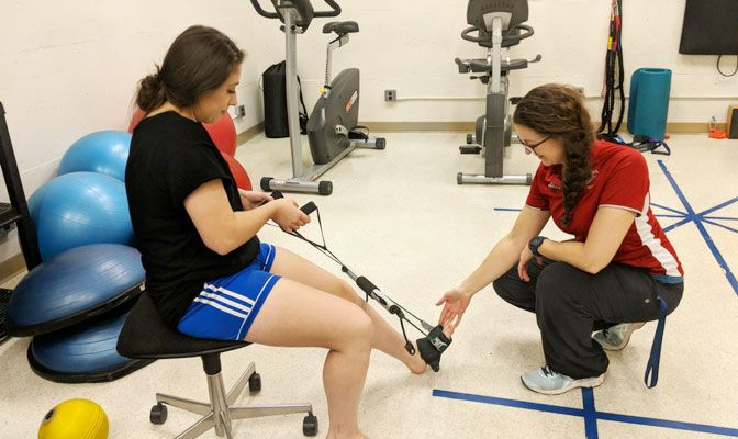 Before coming to Simon Fraser, Cormack provided athletic training services at the Canadian Sports Institute-Pacific.