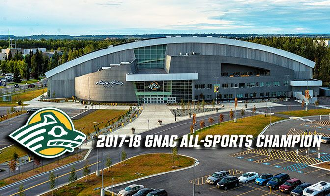 Alaska Anchorage won GNAC titles in women's cross country and women's basketball while finishing in the top-four in seven of the nine GNAC sports it sponsors.
