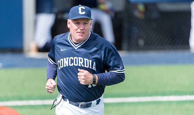Entering his 20th season leading the Concordia baseball program, Rob Vance will be looking for his 300th career with with the Cavaliers in 2018.