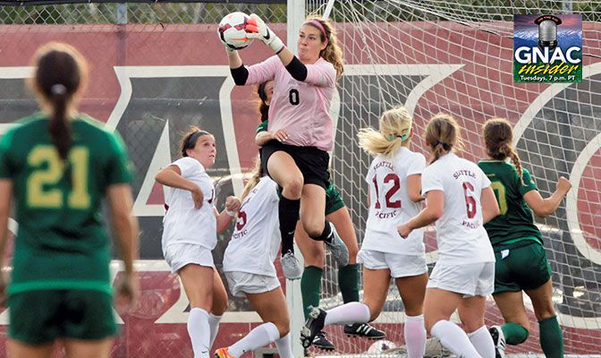 Stinson currently ranks second in SPU history with 241 career saves, just 30 shy of Jennifer Hull's record of 271 set from 2001-2004.
