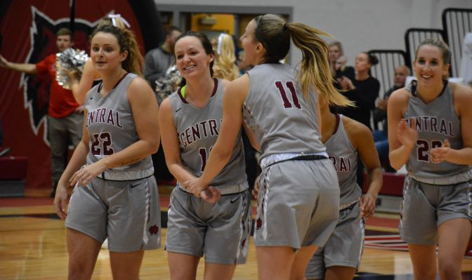 During its six-game win streak, Central Washington has outscored opponents by almost eight points per game and has shot 49.3 percent from the field.