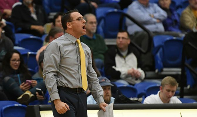 Brian Scott recently finished his third year as the Nanooks' head volelyball coach after assistant coaching stops as Weber State and Utah State.
