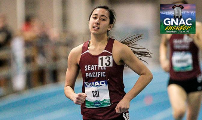 Cai took home the GNAC pentathlon last season with a score of 3,499 points. She looks to replicate last year's success and help SPU to its second straight title.