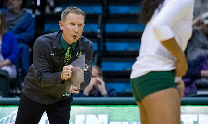 In his first nine seasons leading the Seawolves, Chris Green has led UAA to three GNAC championships and eight NCAA Tournament appearances.