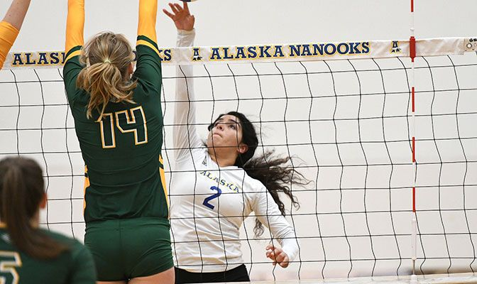 Alaska, led by freshman Gabby Lerma, is the most improved team in the league. The Nanooks' seven wins are the team's most since 2010.