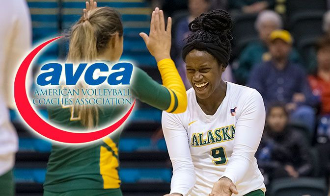 Johnson led Alaska Anchorage with 40 kills as the Seawolves beat nationally-ranked Central Washington and Northwest Nazarene, both in five sets.