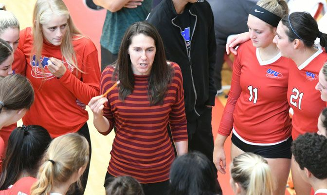 In five seasons, Gina Schmidt has led Simon Fraser to 79 wins, four top-five GNAC finishes and a NCAA Tournament appearance in 2016.