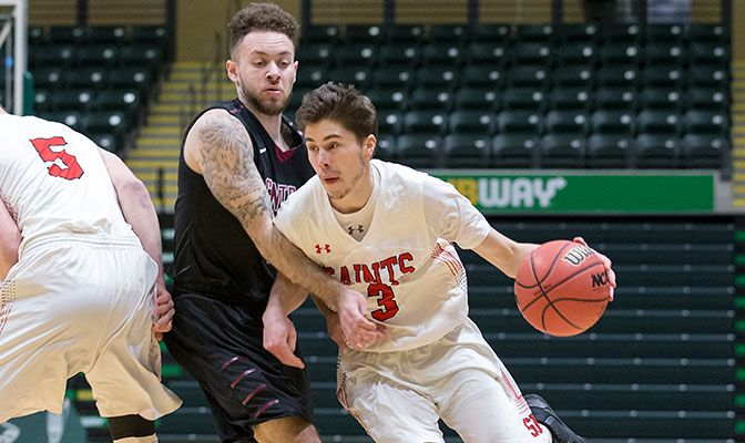 The sixth-leading scorer in the GNAC at 16 points per game, Chavez led the Saints to the GNAC Championships final and the school's first NCAA Division II Championships appearance.