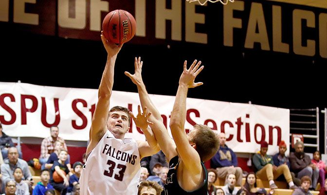 Gavin Long scored 31 points and had 11 rebounds for Seattle Pacific last week, propelling the Falcons to a six-game win streak.