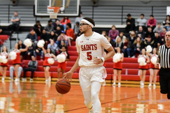 Senior Chandler Redix led Saint Martin's to another perfect week, averaging 20 points and five rebounds per game against the Falcons and Yellowjackets.