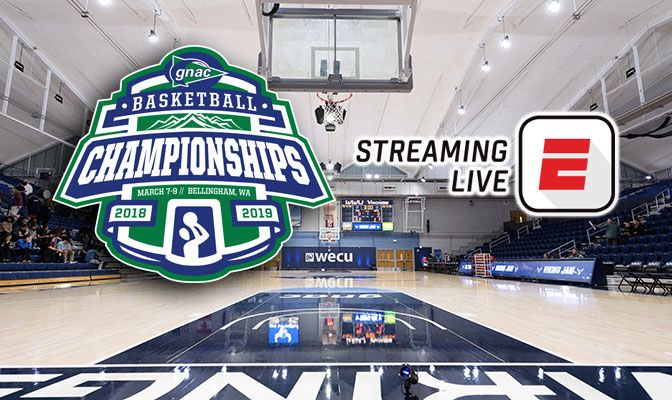 This is the third time in four years that the GNAC Basketball Championships will be streamed nationally.