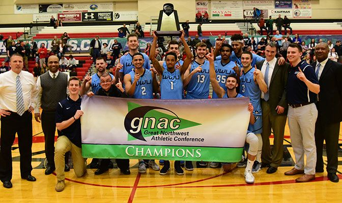 Western Washington won both the GNAC regular season title and the tournament title with an eight-game winning streak going into the NCAA tournament.