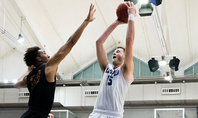 Western Washington's Logan Schilder just missed an impressive triple-double on Saturday against Alaska Anchorage, finishing with 17 points, 15 rebounds, eight blocks and four assists.