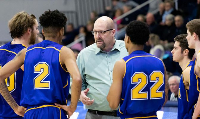 Greg Sparling is in his second season in Fairbanks after serving as the head coach at Central Washington for 16 seasons.