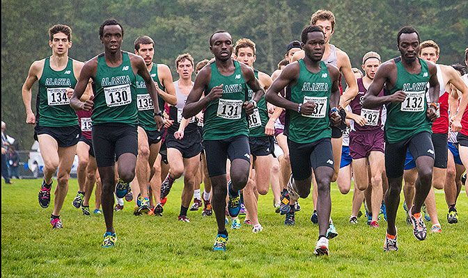 The 15 points scored by Alaska Anchorage's men at the Notre Dame de Namur Argo Invitational marked their third perfect score in the last two seasons.