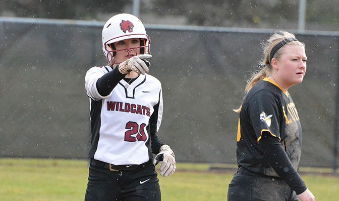 Taylor Ferleman led Central Washington in its four wins over Simon Fraser and Western Washington, batting .688 with two doubles, a triple and a home run.
