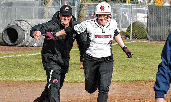 Catcher Kayla Ellis went 3 for 6 with four walks, three RBIs and two runs in the six games.