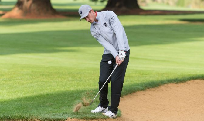 Concordia's Isaac Hall is second in the GNAC with a 72.2 stroke average. The Cavaliers take the course on Monday at the Hanny Stanislaus Invitational in Turlock, Calif.