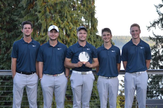 Western Washington came away with the Saint Martin's Invitational on Saturday, finishing five strokes ahead of second place Victoria (BC). Devin Andrews paced the Vikings in fourth place overall.