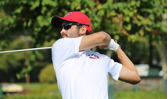 Simon Fraser's Scott Kerr took home the GNAC Men's Golf Player of the Week award after leading the Clan to a team victory at the Western Washington Invitational last week.