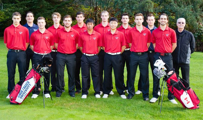 The Simon Fraser men's golf team finished first in their second tournament this season.